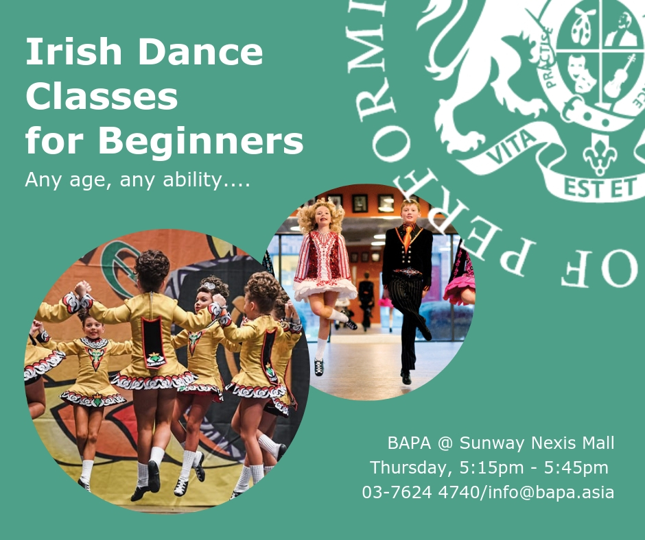 Dance Irish Classes FB ad