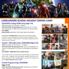 Dec2019 holiday camp_Avengers