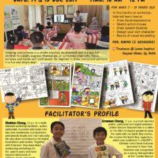 Kids Comic Drawing Workshop Dec 2019