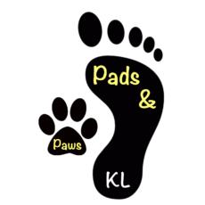 Pads & Paws KL logo