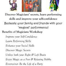 MAGICIANS WORKSHOP
